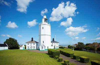 Photo for Khina Cottage, with accommodation for four, at North Foreland Lighthouse on the far eastern tip of K