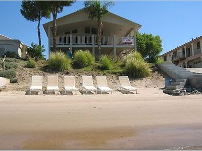 Photo for Riverfront Vacation Home---Private Beach and Launch Ramp