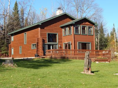 Photo for Aerie- Large Cabin with a Breathtaking View of the Rapids