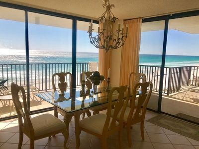 Photo for Beachfront Condo w/Balcony, View, Beach Access, Pool, & More