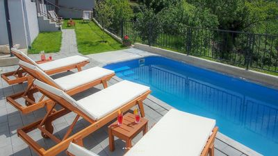 Photo for Beautiful villa with private pool on Krk