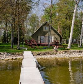 cabins document untitled rent cottages for from cabin beautiful of directly our lake privacy enjoy cottage the your houghton on are view