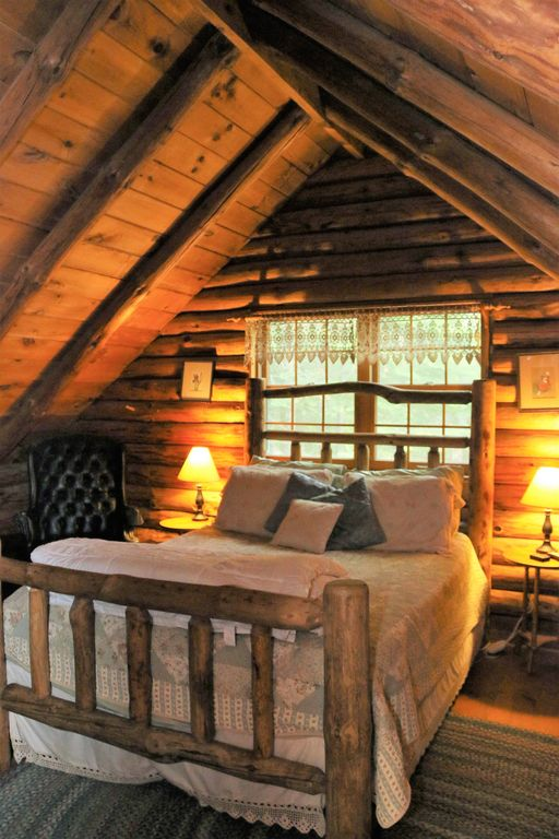 Romantic log cabin in jackson new hampshire jackson for New hampshire log cabins