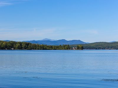 Photo for NEW LISTING! Lakefront home with 100 feet of sandy beach on Ossipee Lake!