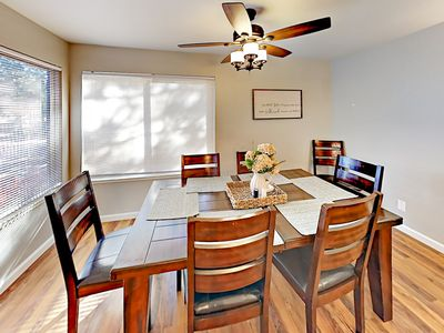 Dining Room - Serve home-cooked meals at the dining table with seating for 6.