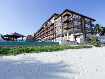Photo for Apartment 3 rooms with large laser area beachfront