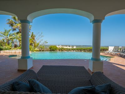 Photo for Exceptional 4 Bedroom Villa with Stunning Views and Heated Swimming Pool