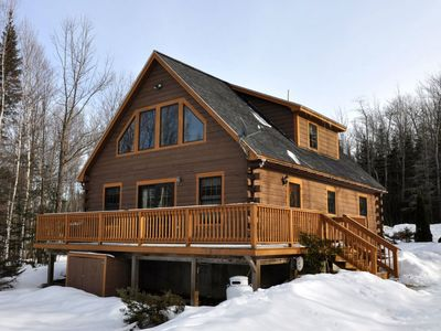 Photo for Cozy Ski Chalet, Minutes from the Mt Abram Trails