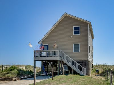 Photo for Shades of Blue | Oceanfront | Dog Friendly, Hot Tub | Kill Devil Hills