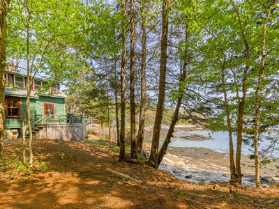 Photo for Rustic bayfront cottage with fantastic views - just minutes to downtown!