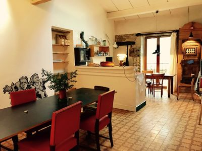 Photo for Charming and quiet, artist's house in the city center