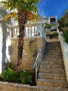 Photo for Sea view, 70 m², directly on the sea in Tisno, 2 bedrooms and bathroom
