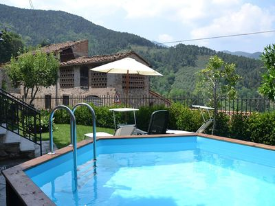 Photo for Modern villa with private pool and fenced garden 12 km from Lucca