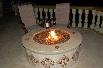Relax by the Fire Pit during the Evening