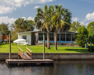 Photo for Noah's Place in Shell Point, FL - Canal Front, Dock, Porch, Community Pool