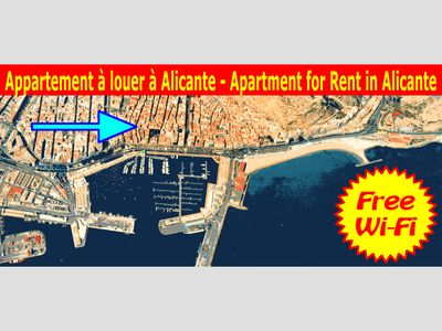 Photo for Alicante - beautiful apartment between the beach and town center. WiFi.