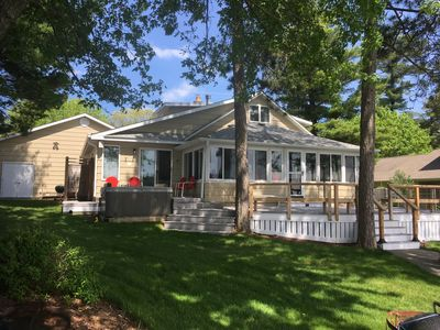 Photo for Silver Lake cottage - historic renovated home - family, water sports and fishing