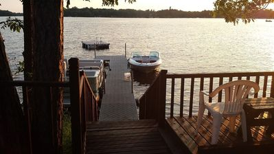 Photo for Cozy Lake Home, Relaxing Getaway, Beautiful Sunsets on Sand Lake