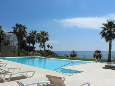 Photo for Buenas Noches Apartment, Sleeps 6 with Pool and Air Con