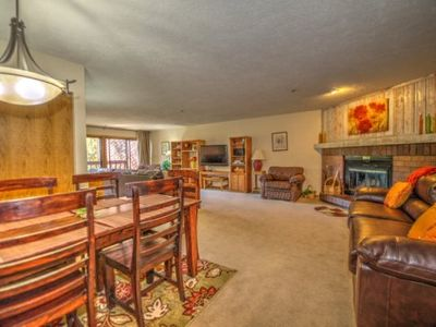 Photo for Cimarron Chalet - Spacious, SUMMER SPECIALS, Hot Tub, Mountain Activities, Relax in Lovely Breck Town, CDC certified cleaning products!