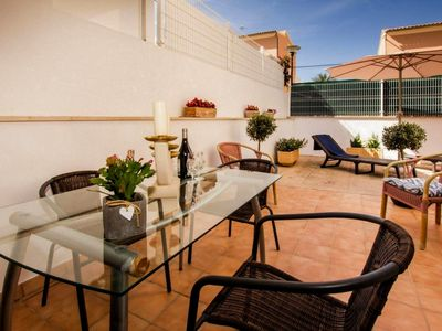Photo for Spacious Apartment Dragonera Close to the Beach with Wi-Fi & Terrace; Parking Available