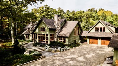 Photo for Spectacular Waterfront Retreat Featuring Main and Carriage House with Dock