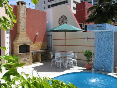 Photo for Comfortable house with swimming pool close to Ponta Negra Beach.