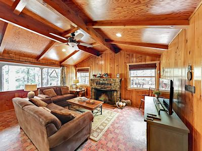 Photo for 5-Minute Walk to Village! Ultra-Private 4BR on 1 Acre w/ Forested Views
