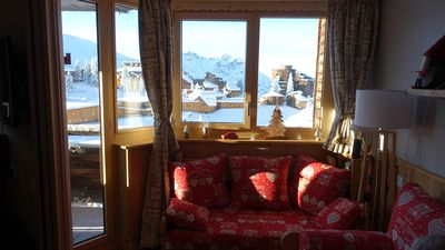 Photo for AVORIAZ, center station, 3 rooms renovated 6 people, including household