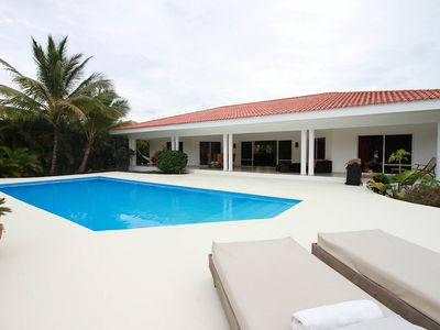 Photo for Spacious luxury 5BD villa in gated residence, private pool, shuttle bus