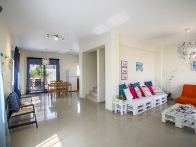 Photo for Imagine You and Your Family Renting this Perfect Villa minutes from the beach, Villa Protaras 1108
