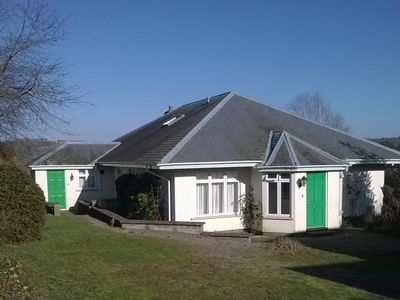 Photo for Detached rural bungalow, with sunroom, parking and enclosed garden