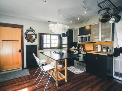 Photo for Modern Historic Carriage House ❤️ City Oasis - Studio Guest House, Sleeps 3