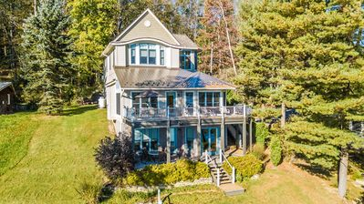 Photo for Extrordinary & Luxurious 4 Bedroom Lakefront Home with Awe-Inspiring Views!