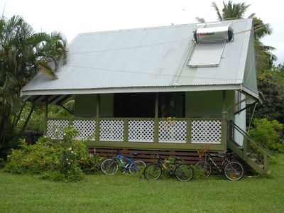 Photo for Ginas Garden Lodges, Aitutaki - 4 self contained lodges in a beautiful garden.