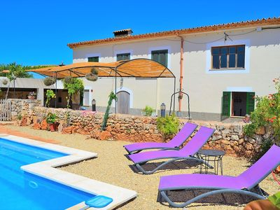 Photo for Sa Vinyota Typical Majorcan villa with swimming pool 131