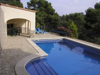 Photo for Exclusive Villa with Private Pool, Extensive Gardens & Sea Views