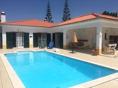Photo for A peaceful free-standing three-bedroom house in Vale da Telha with pool