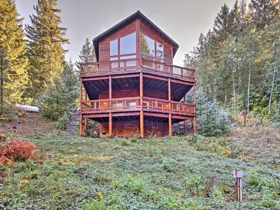 Photo for 'Grizzly Tower' Packwood Cabin w/ Forest Views!