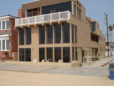 Photo for 2 Story Large Beachfront house, Ocean View