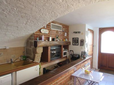 Photo for Large studio in a charming little village on the Tarn