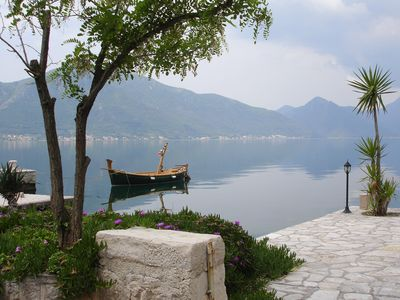 Photo for Large Penthouse  in Ljuta, Kotor, Overlooking the Bay