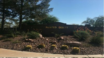Beautiful Painted Desert Golf Course Community