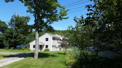 Photo for Awesome home right on Hosmer Pond in Camden!