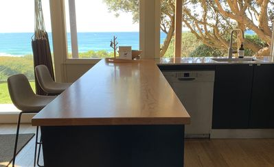 Photo for Private, peaceful, pet-friendly absolute beachfront property with unlimited NBN.