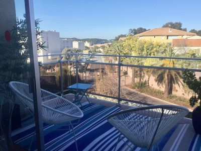 Photo for Furnished studio sea view Le Brusc