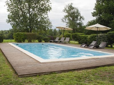 Photo for the meadow house with pool ideal for 6 to 8 people