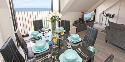 Photo for Fisherman's Cottage with amazing sea views - set in old quiet cobbled square