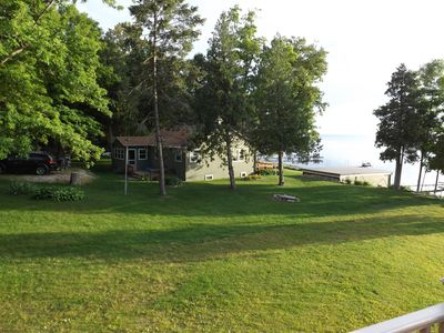 Stretch out with plenty of yard space and parking right behind the cabin.