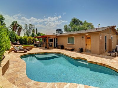 Photo for NEW LISTING! Spacious Scottsdale home w/ a private pool & furnished patio!